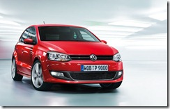 nFrente do Novo Volkswagen Polo