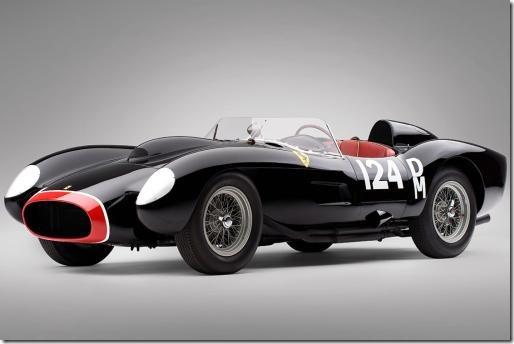 Ferrari 250 Testa Rosa de 1957, o carro mais caro do mundo