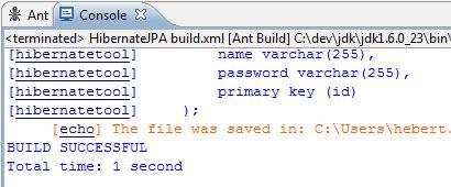 Auto Create Schema Ant Hibernate 3 e JPA 2