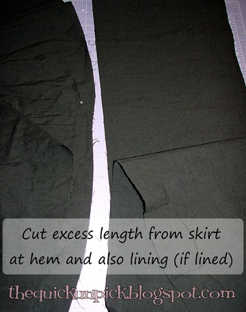 c skirt refashion