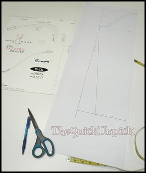 maria martin pattern drafting
