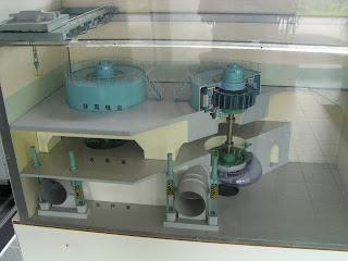 発電所の模型