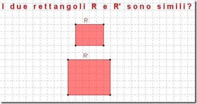 i due rettangoli sono simili