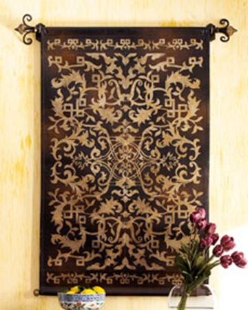Horchow Leather Tapestry