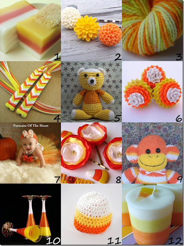 Candy Corn Inspired