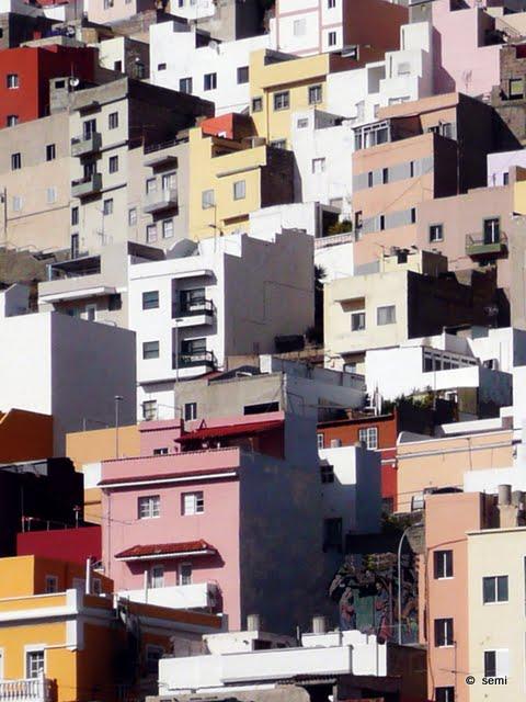 tatuaje santa cruz tenerife. Detalle urbano de autoconstrucción, Barrio Nuevo, Santa Cruz de Tenerife