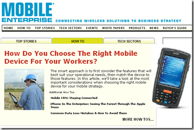 mobileEnterprise