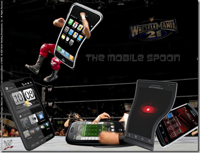 MobileSpoon-War of the phones