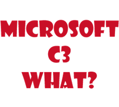 Microsoft C3 What