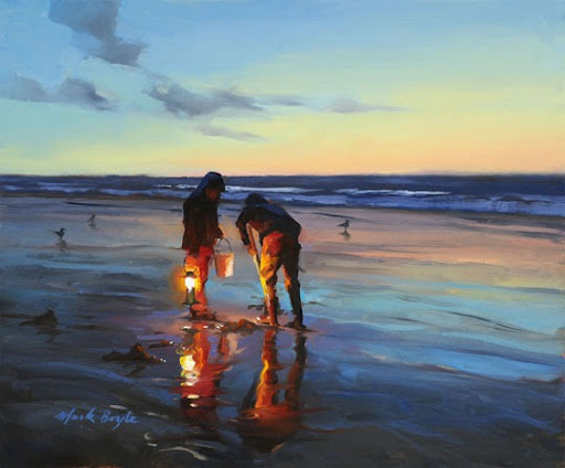 Beautiful Oil Paintings by Mark Boyle | Amusing Planet