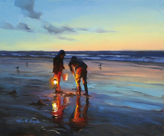 Beautiful oil paintings by mark boyle amusing planet for Oil painting lessons near me