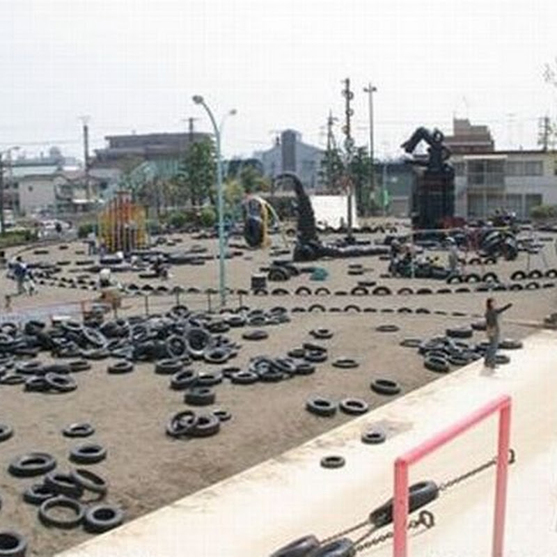 The Most Unusual Tokyo Tire Park