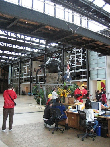 inside pixar studios. Inside Pixar Animation Studios at Trickfist.com