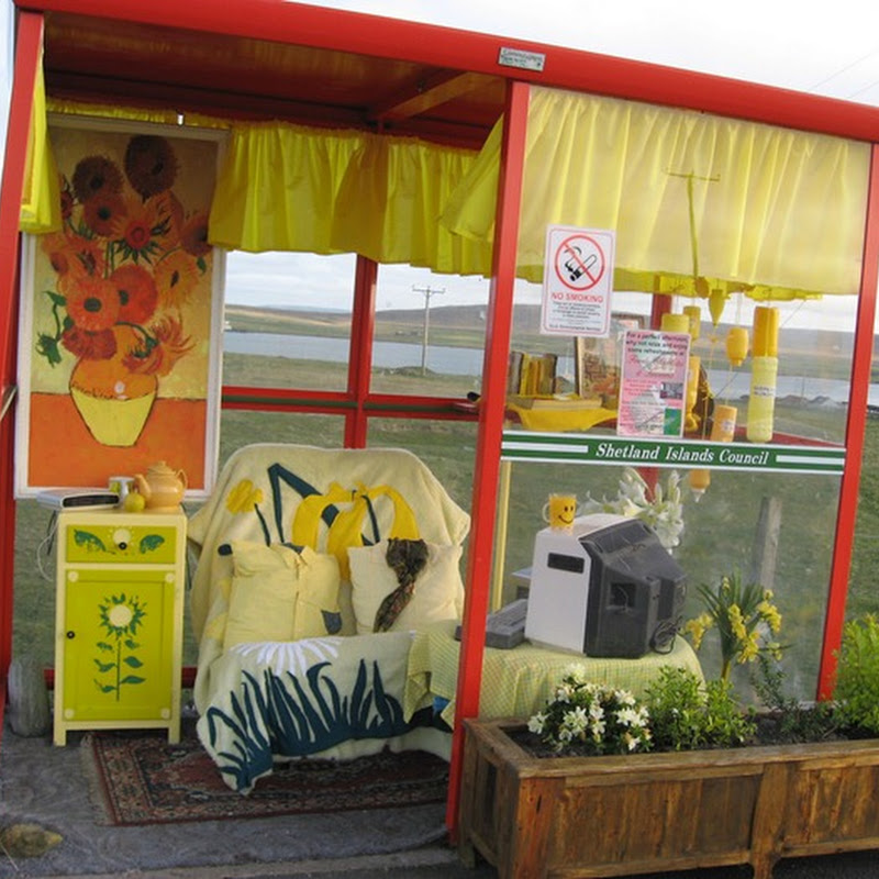 The Curious Story of 'Bobby's Bus Shelter' at Unst, Scotland