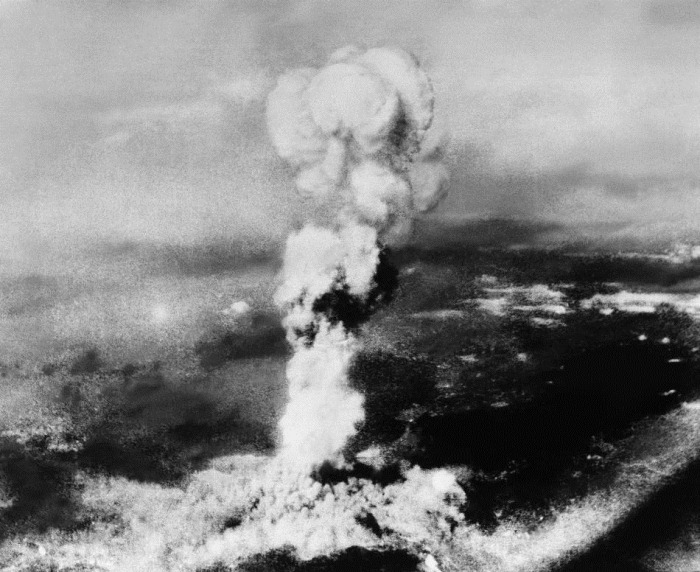 ... after the first atomic bomb was dropped during warfare. (AP Photo