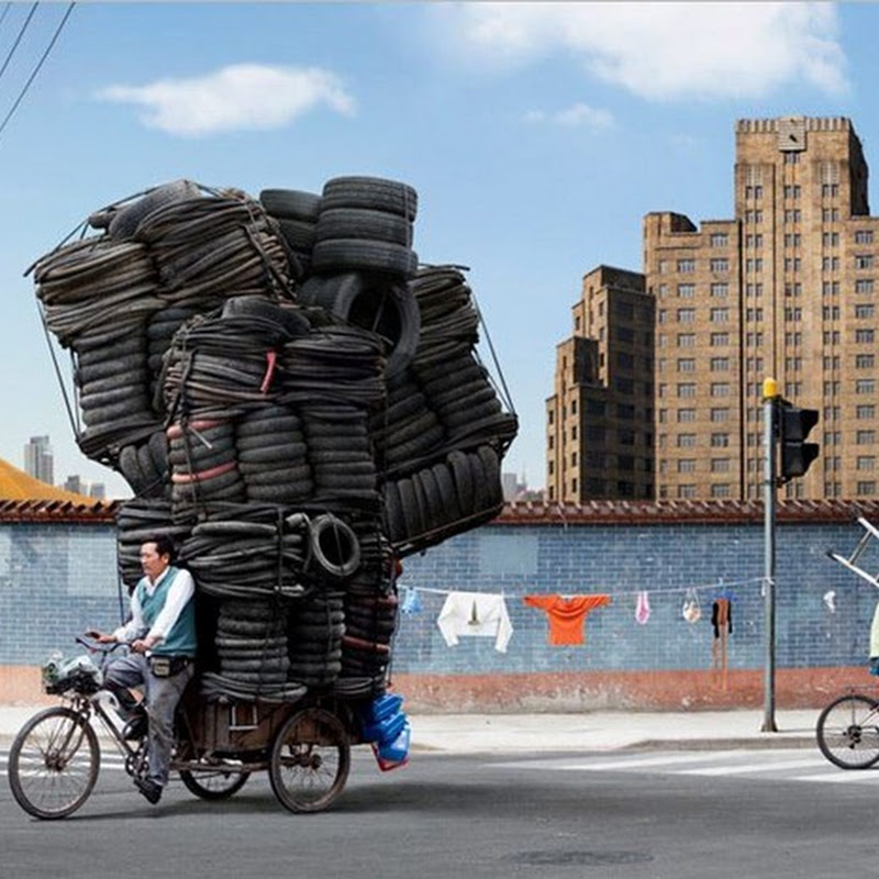 China's Overloaded Cycle Carriers