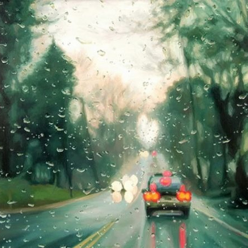 Amazing Rainy Day Paintings by Gregory Thielker