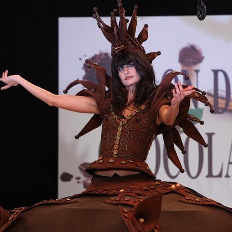 Salon du Chocolat 2010 Paris: The Fashion Show