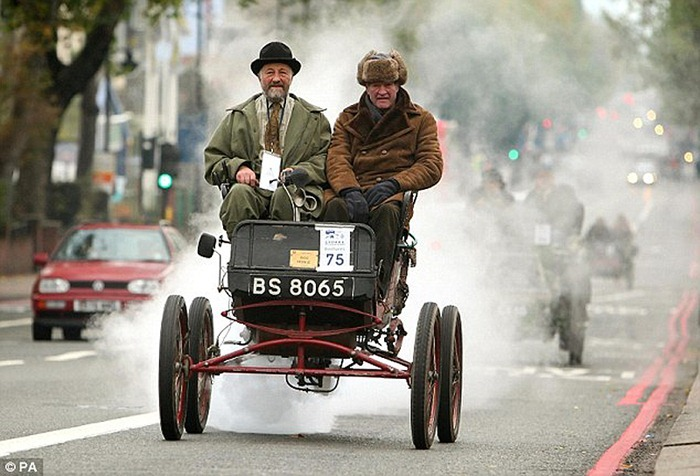 London To Brighton Car Race