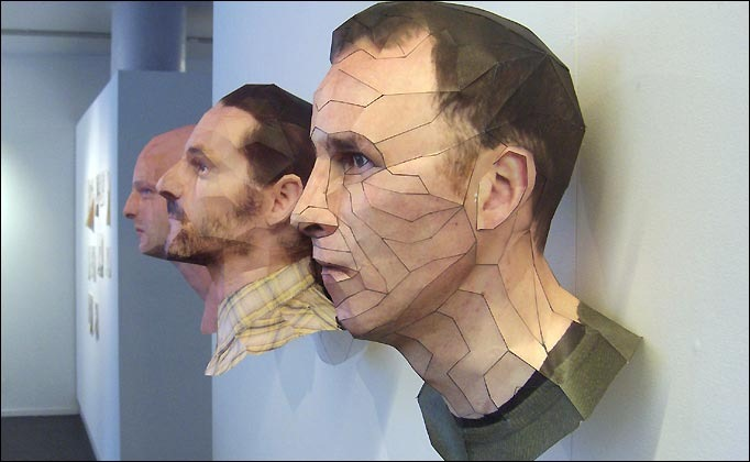 amazing 3d paper sculptures by bert simons