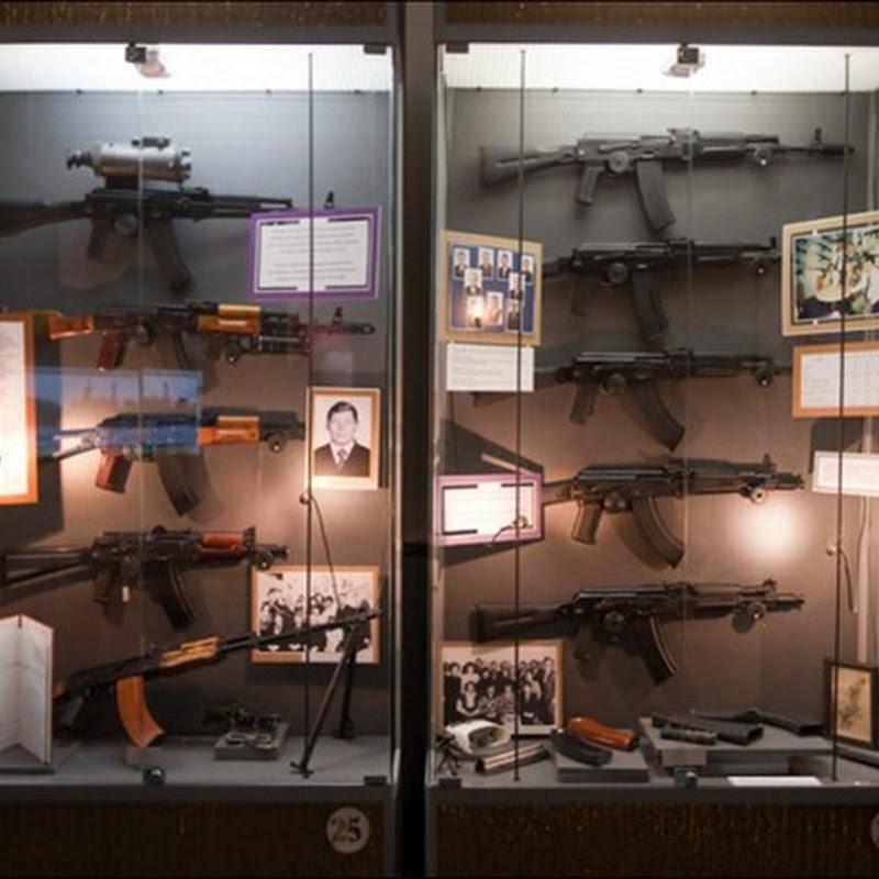 The Kalashnikov Museum in Izhevsk