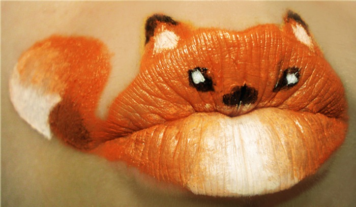 Lip Art by Paige Thompson Kiss u