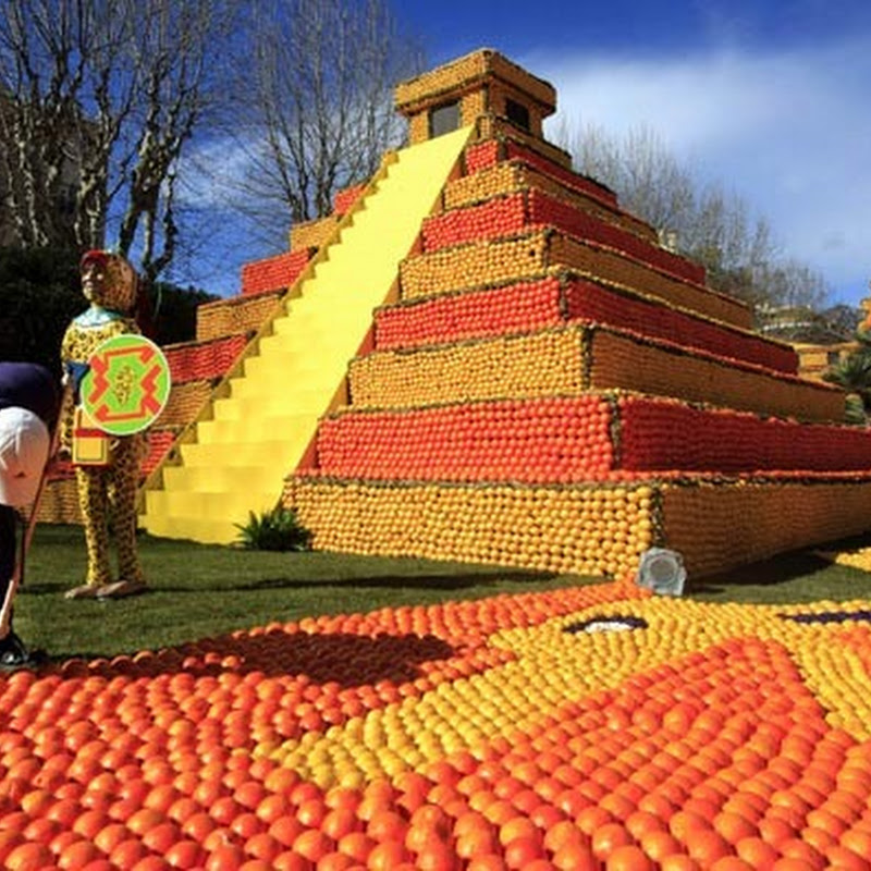 Lemon Festival Begins in Menton