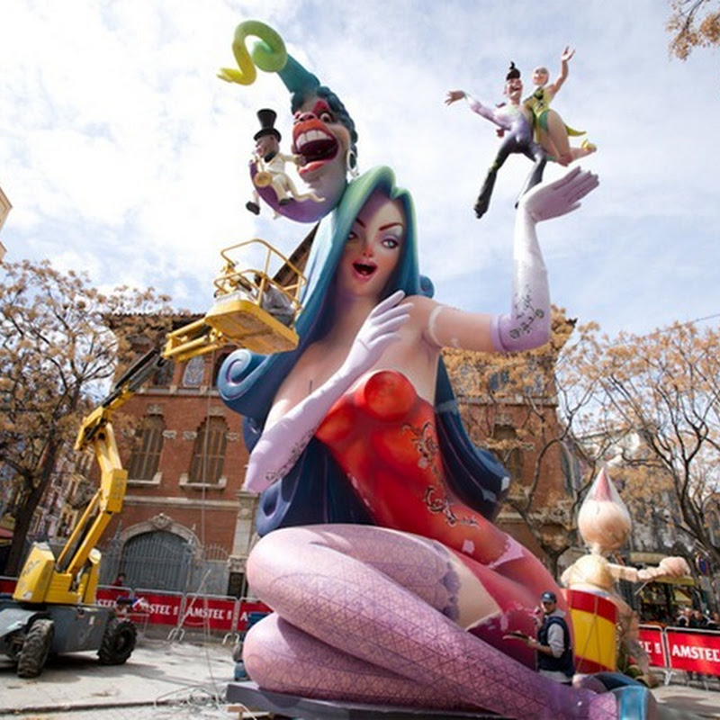 Las Fallas, The Spanish Festival of Fire