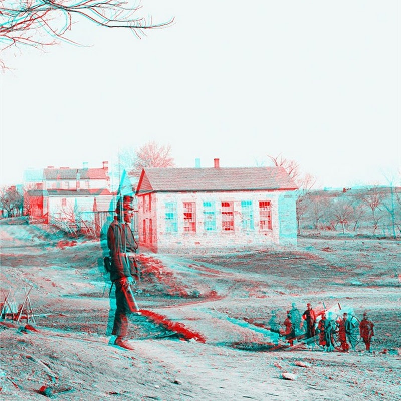 150 Years Old 3D Photos of the Civil War