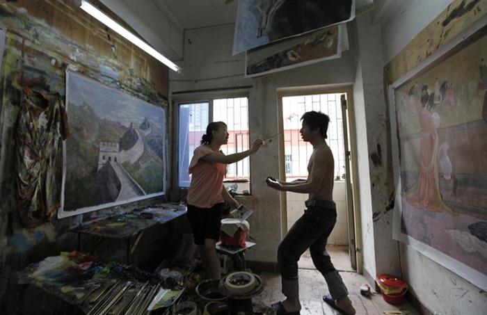 dafen-oil-painting-village16