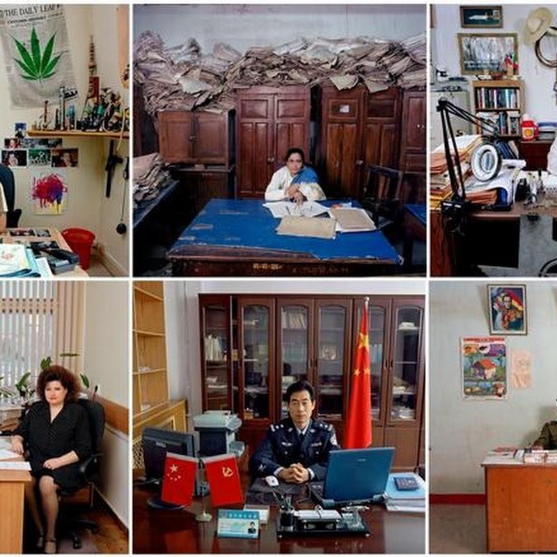 Bureaucrats Around The World: Photo Series by Jan Banning