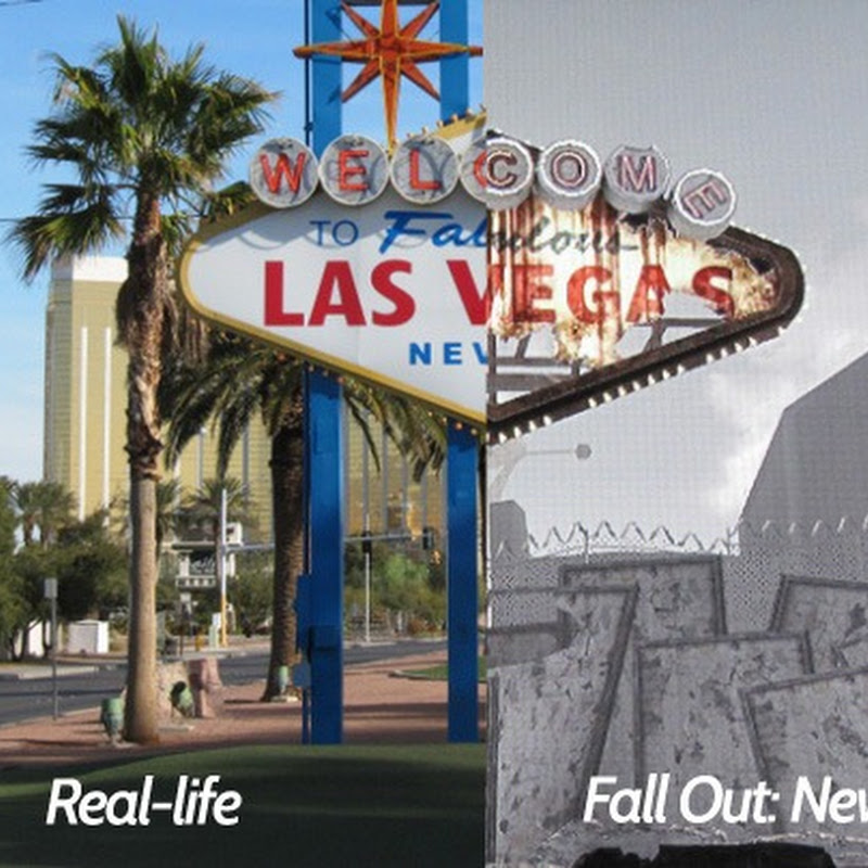 Real-Life Locations in 'Fallout: New Vegas' Video Game