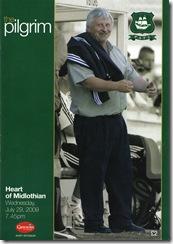 PA vs Hearts programme