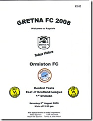 Gretna vs Orm prog2