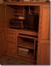 open armoire