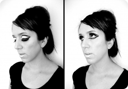 1960's Make-Up1 BW HCMUA together