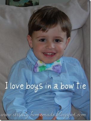 Wes in a bow tie
