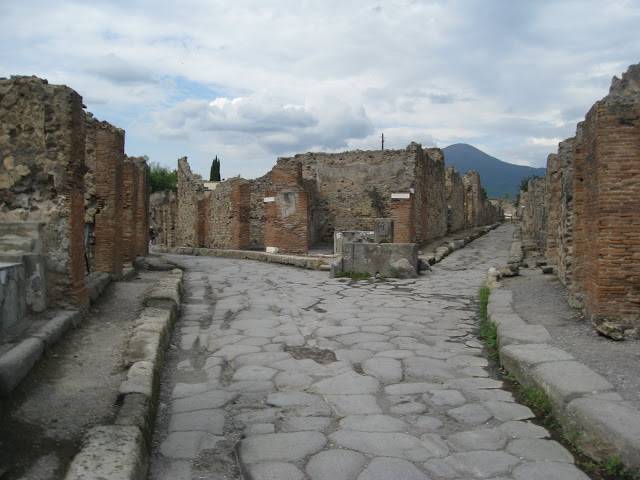 Pompei near Naples, Italy