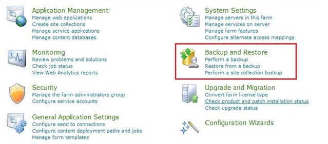 1_Backup_Restore_Central_Administration