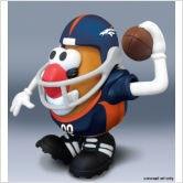 NFL Mr Potato Head - Denver Broncos