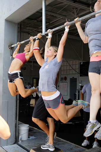 crossfit women, nutrition, 2011