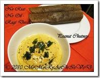 ramya Vijaykumar's ragi dosa and peanut chutney