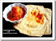 Asha ar's Parathas-Egg masala