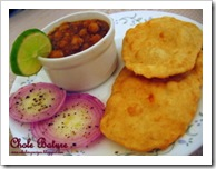 Preeti Kashyap's Punjabi Chole Bhatoore