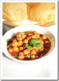 Collaborative's puri chole