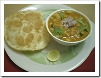 Srividhya's Chana Bhatura