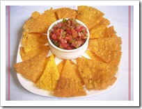 Preeti B's Nachos-salsa