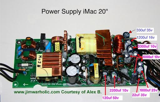 "Apple iMac G5 17/"" Power supply 180 Watt API4PC47 614-0365"