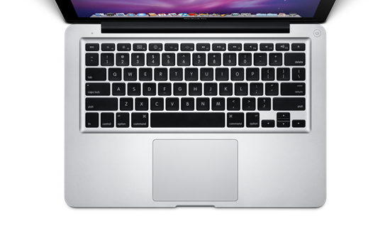 MacBook Pro Keyboard Trackpad