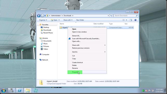 install hyper-v module6
